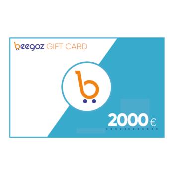 Beegoz Gift Card 2000 EUR