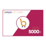 Beegoz Gift Card 5000 EUR