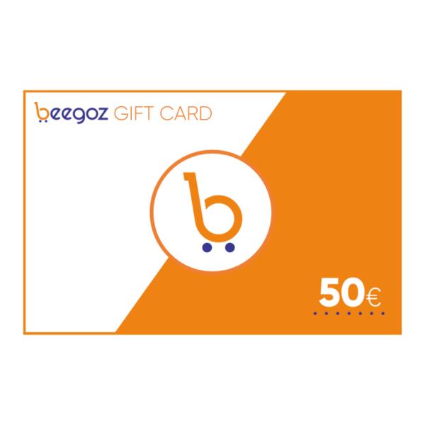 Beegoz gift card 50 EUR