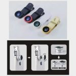 3-in-1 Universal Clip on Smartphone Camera Lens –