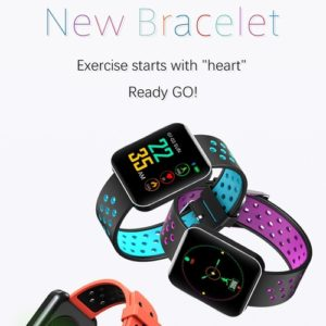 1.54 inches Heart Rate Activity Step Music Control