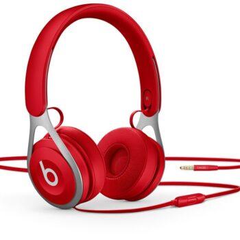 Beats EP headphones (red)