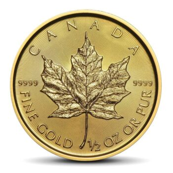 Canadian Maple Leaf 1/2 OZ GOLD