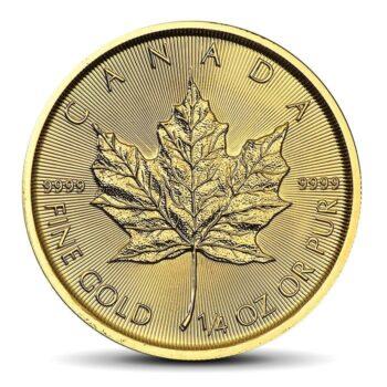 Canadian Maple Leaf 1/4 OZ GOLD