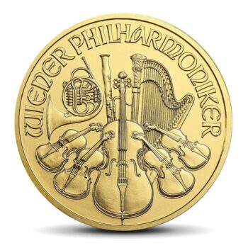 VIENNA PHILHARMONICS 1/10 OZ GOLD