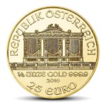 VIENNA PHILHARMONICS 1/4 OZ GOLD