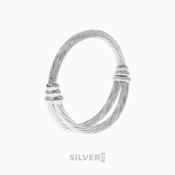La giovinezza silver bracelet