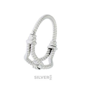 La grande bellezza silver bracelet