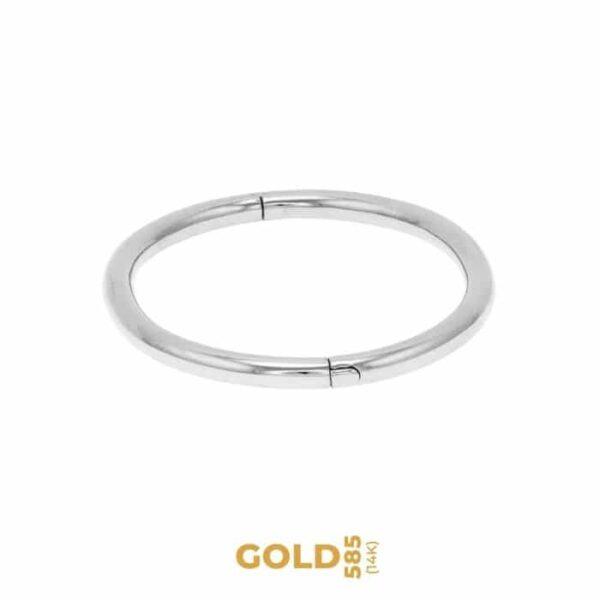 Dafne 14K white gold bracelet