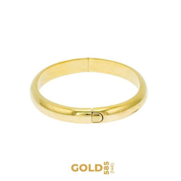 Flora 14K yellow gold bracelet