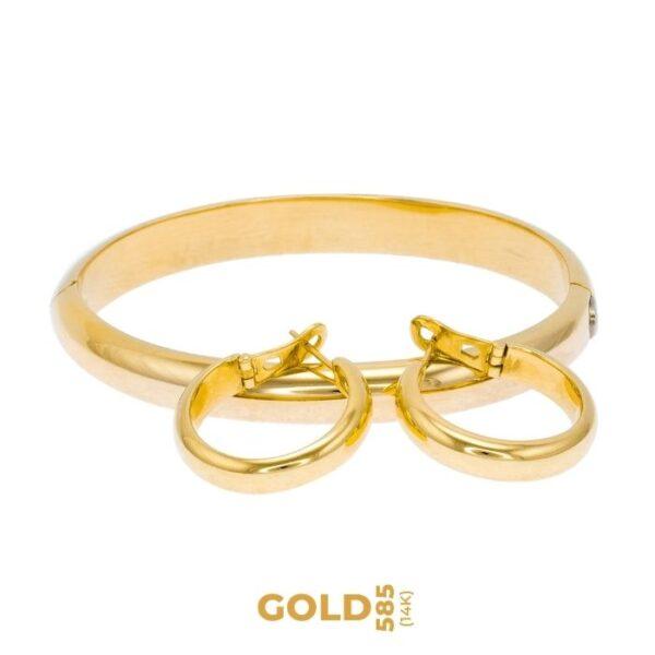 Set Turan 14K yellow gold