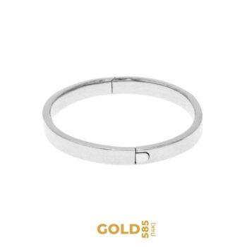 Lucia di Lammermoor 14K white gold bracelet
