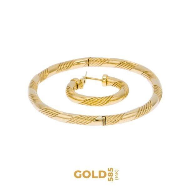 Set Catha 14K yellow gold