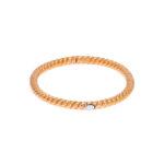 La danza delle libellule 18K red gold bracelet