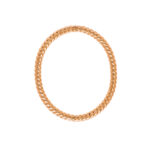 La danza delle libellule 14K red gold bracelet