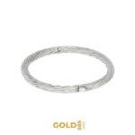 Aida bransoletka z 14-karatowego białego złota