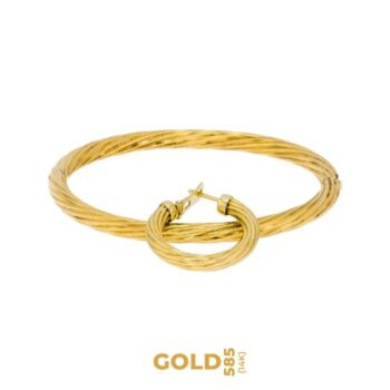 Set Uni 14K yellow gold