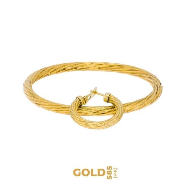 Set Uni 14K yellow gold