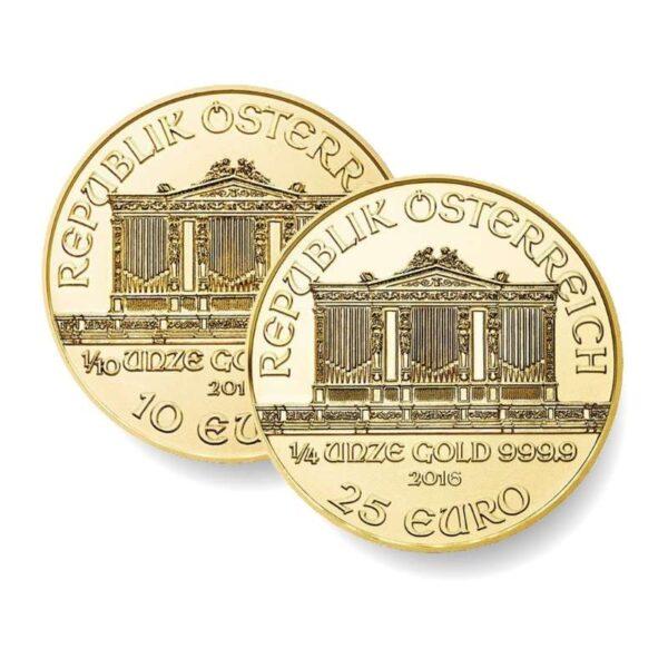 DUET - zestaw dwóch złotych monet