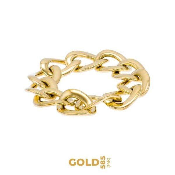 Excelsior 14K yellow gold bracelet