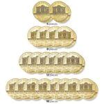 ORKIESTRA SYMFONICZNA – zestaw czterdziestu złotych monet