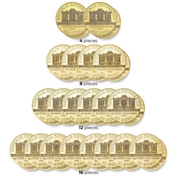 ORKIESTRA SYMFONICZNA - zestaw czterdziestu złotych monet