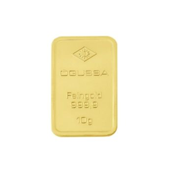 GOLD BAR ÖGUSSA – 10 g