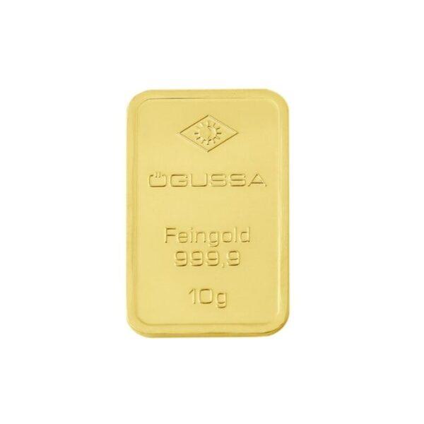 GOLD BAR ÖGUSSA - 10 g