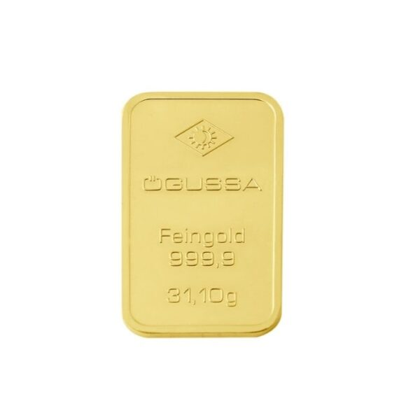 GOLD BAR ÖGUSSA - 1 oz.