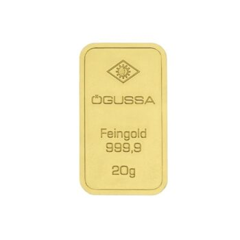 GOLD BAR ÖGUSSA – 20 g