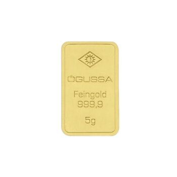 GOLD BAR ÖGUSSA – 5 g