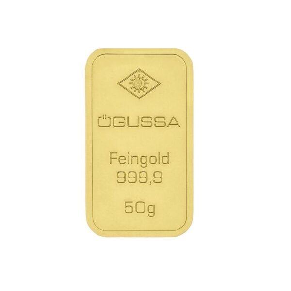GOLD BAR ÖGUSSA - 50 g