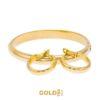 Set Turan 18K yellow gold