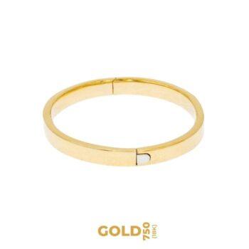 Edelina bransoletka z 18-karatowego żółtego złota