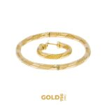 Set Catha 18K yellow gold