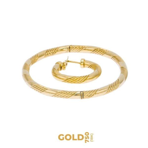 Set Catha 18K yellow gold