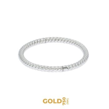 Madama Butterfly 18K white gold bracelet