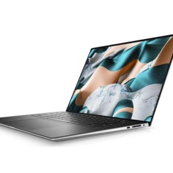 """Laptop Dell XPS 17 17 """" Intel Core i7-10875H 16 GB / 1000 GB srebrny"""